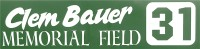 Ballfield Sign Image