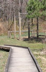 Nature Walk and Excersise Equipment